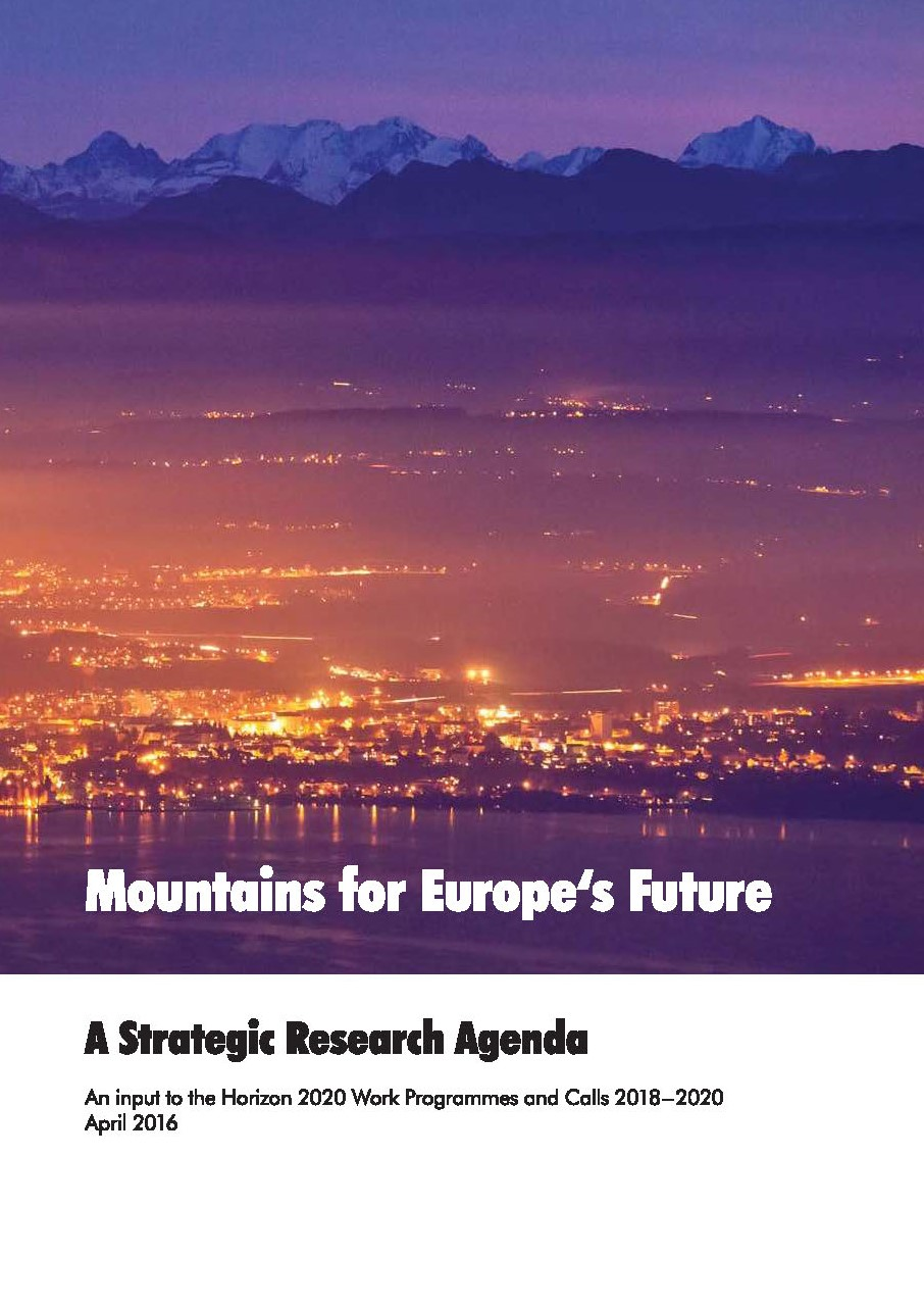 Cover Mountains for Europe Future Page 1
