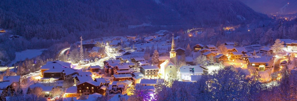 French Alps Town 1000x340