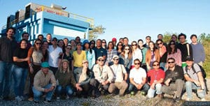 Figure 4. Monitoring teams from water funds across Latin America who will partner on the ClimateWIse project.