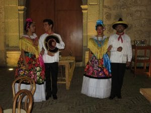 Isthmus Zapotec Dance Couples at the PECSii Conference