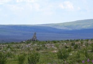 Photo 2: Finger Mountain in northern Alaska. Photo credit: Mélanie Jean.
