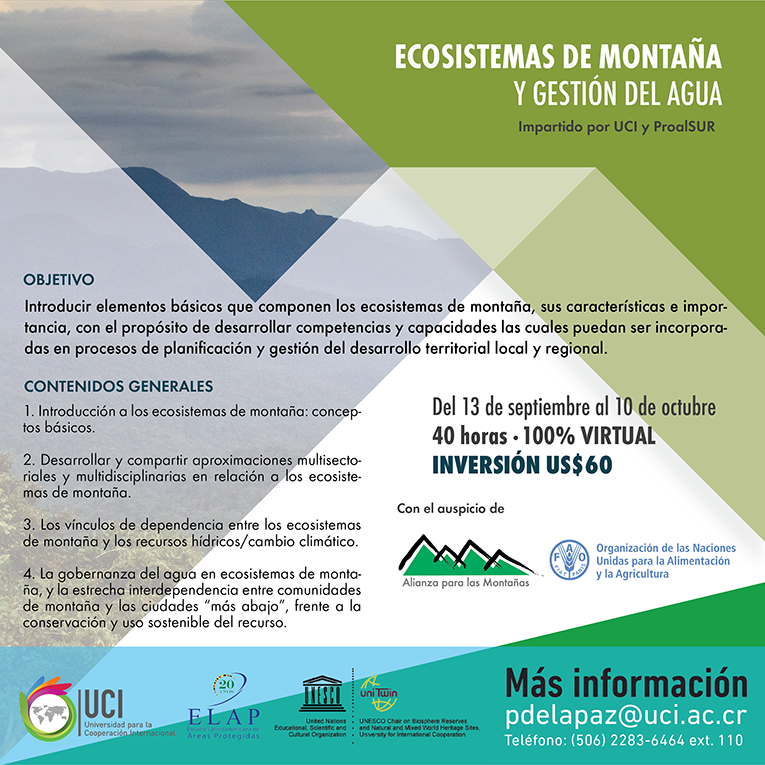 Mountain Ecosystems online course